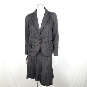 Torrid Herringbone Skirt Suit
